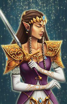 Princess Zelda || les différents détails