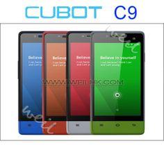 CUBOT C9+ MTK6572 Dual Core 4.0 inch Dual Sim Card Android 4.2 800*480 Capacitive Smart Phone Dual Camera CB0603