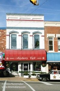 Mayberry Cafe in Danville, #Indiana