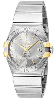 nice OMEGA wristwatch Constellation Co-Axial automatic 123.20.35.20.02.004 just added...