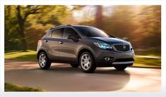 2013 Buick #Encore. The next big thing in luxury is small.