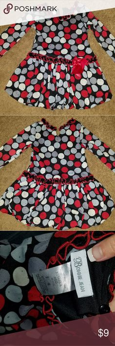 Bonnie Jean dress 4T Used at Christmas, great condition! Can bundle with other items in my closet! Smoke free home! Bonnie Jean Dresses Formal