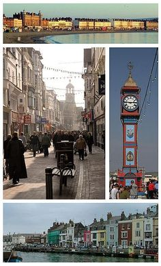 Weymouth beach, town centre,harbour and jubilee clock. England Uk, London England, Dorset England, Weymouth Dorset, Weymouth England, Weymouth Beach, Portland Dorset, Bournemouth Beach, Dorset Coast