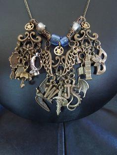 Infernal Devices Inspired Necklace - Will, Jem, Tessa and Jessamine. $50.00, via Etsy.