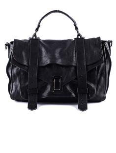 All Black: Proenza Schouler PS1 Handbag.