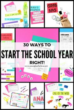 Have Your Best First Week: 30 Ways to Start the Year Right with Team Building Activities - Young Teacher Love by Kristine Nannini