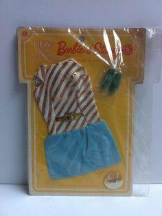 Vintage Barbie Stacey RARE FASHION QUEEN VARIATION 'DRESSED UP' PAK NRFB MIB MIP in Dolls & Bears | eBay