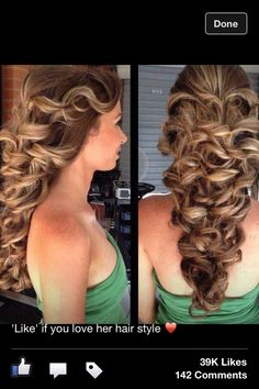 Fancy classic curls