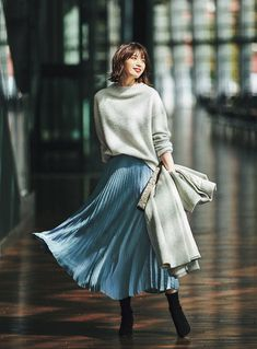 cute sweet long skirts make you the focus 47 Modest Outfits, Skirt Outfits, Modest Fashion, Casual Outfits, Fashion Outfits, Womens Fashion, Apostolic Fashion, Modest Clothing, Summer Outfits