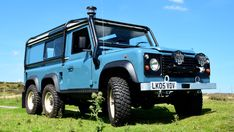 Are you looking to convert your Land Rover Defender into a 6 wheel drive? We have a great history of providing such a complex conversion. Land Rover Suv, Land Rover Off Road, Defender Camper, Land Rover Defender 110, Offroad, 6x6 Truck, Off Road Adventure, Suv Cars, Import Cars