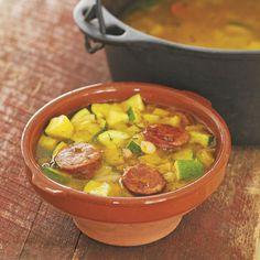 Merche's White Bean and Chorizo Spanish Stew