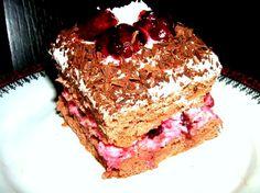 Cherry Cream Cake - Recipe