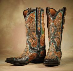 Gila Monster Boots