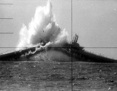 Japanese submarine hit by the Gudgeon (SS-211), first war kill by an American submarine in WW-2.