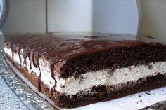 Ez a torta mindent felülmúl, annyira ízletes, hogy nem lehet betelni vele! No Cook Desserts, Sweet Desserts, Sweet Recipes, Delicious Desserts, Yummy Food, Food Cakes, Cupcake Cakes, Ital Food, Cookie Recipes