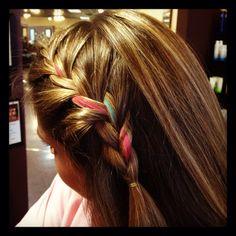 Chalking and braids