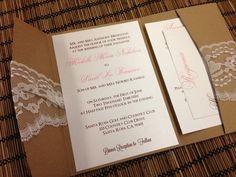 rustic vintage wedding invitation - Google Search