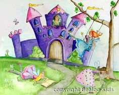Fairy+Castle by+bealoo
