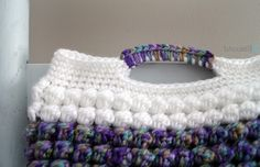 Springtime Bobble Crochet Clutch