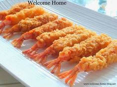 I love making tempura anything! Because it is so easy and I love the light and crispy coating that comes from this batter. The tric. Fried Shrimp Recipes, Prawn Recipes, Shrimp Dishes, Sushi Recipes, Salmon Recipes, Seafood Recipes, Asian Recipes, Appetizer Recipes, Cooking Recipes