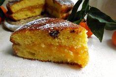 Questa Torta al Mandarino Cremosa è speciale E' fatta con il succo del mandarino ma tanto succo rimane morbidissima e con un cuore cremoso molto invitante
