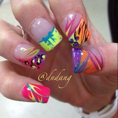 Photo by dndang  | See more nail designs at http://www.nailsss.com/acrylic-nails-ideas/3/