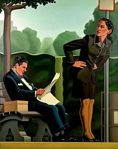Reading and Art: Kenton Nelson