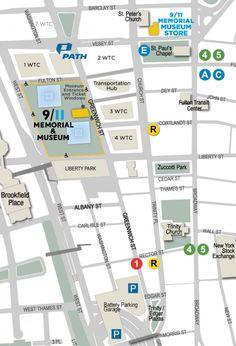 Getting Here   National September 11 Memorial & Museum