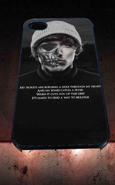 Bring me the horizon lyric for iPhone 4/4s, iPhone 5/5S/5C/6, Samsung S3/S4/S5 Unique Case *76*