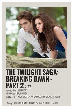 Iconic Movie Posters, Minimal Movie Posters, Minimal Poster, Twilight Poster, Twilight Movie, Twilight Saga, Film Poster Design, All Meme, Movie Prints
