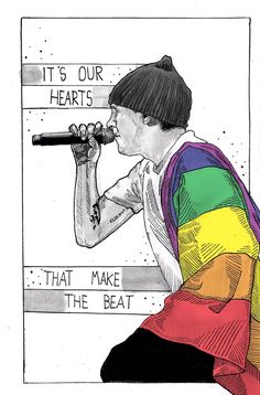 It's our hearts that make the beat. Twenty One Pilots Art, Twenty One Pilots Wallpaper, Tyler Joseph, Paramore, Music Stuff, My Music, Staying Alive, Fall Out Boy, My Chemical Romance