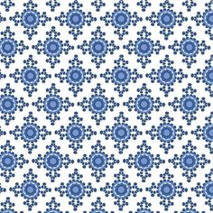 Bohemian Blues pattern by Wishhunt