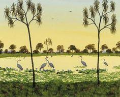 percy trezise Australian Art, Awesome, Painting, Painting Art, Paintings, Painted Canvas, Drawings