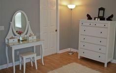ikea hemnes vanity - want for my room.