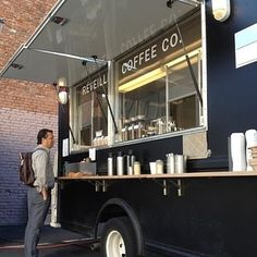 Coffee truck business plan
