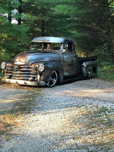 Some Wild Metal Work on this truck if you look close! We'd love to help you with a set of wheels like these www.RideRidler.com