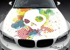 Skull Wall Decal Vinyl Car Sticker Uscolor Car Stickers - Car vinyl decalsabstract full color graphics adhesive vinyl sticker fit any car