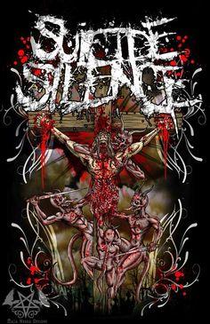 Suicide silence devian art