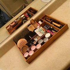 There are about a million different ways to organize your makeup and other beauty products – acrylic drawers, glass canisters, old mason jars, cute candle jars, etc. One of my personal favorite ways is to use a good vanity tray. A really pretty vanity tray, one made of gold and glass or marble, makes everything … Read More