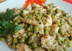 Zöldborsós hús Potato Salad, Food And Drink, Chicken, Healthy, Ethnic Recipes, Desserts, Foods, Tailgate Desserts, Food Food