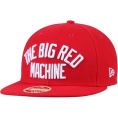 Cincinnati Reds New Era Cooperstown Collection Team Callout 9FIFTY Adjustable Snapback Hat - Red - $29.99