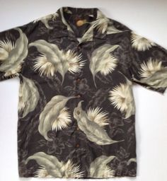 HANA+Dora Mens Hawaiian Beach Short Sleeve Pineapple Tops Button Down Shirt