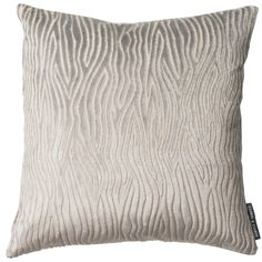 Onda Velvet Animal Pebble Square Cushion