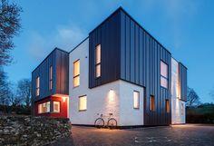 Zinc cladding panels | Usual House