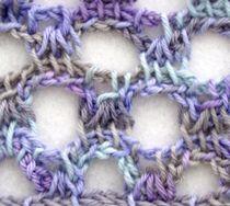 Crochet Conference Class: Tunisian Eyelet Meshes