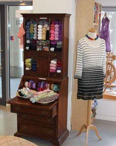 Wollkultur yarn shop in Hannover