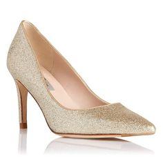 Florete Glitter Point Toe Court Shoe | L.K. Bennett