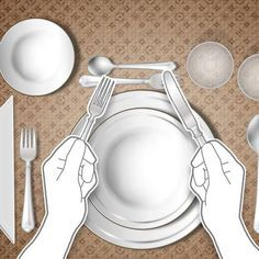 Como usar talheres corretamente: dicas de etiqueta à mesa - Terra Dinning Etiquette, Good Table Manners, Etiquette And Manners, Home Food, Classic House, Kitchen Hacks, Dining Room Table, Wine Recipes, Table Settings
