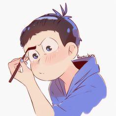 give me your teeth All Anime, Me Me Me Anime, Anime Guys, Osomatsu San Doujinshi, Anime Pixel Art, Happy Tree Friends, Ichimatsu, Fanart, Stuff And Thangs