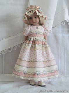"13"" Effner Little Darling BJD fashion pink & white OOAK set handmade by JEC"